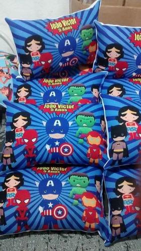 15 almofadas personalizadas 20x30 frente verso leia anúncio