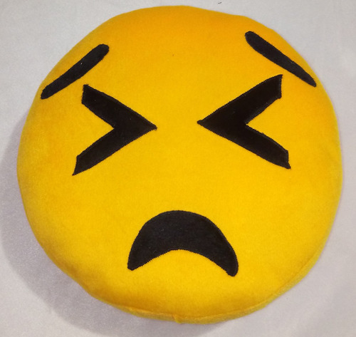 15 almohadas emoji emoticon peluche 28cm de diámetro mayoreo
