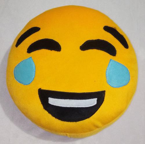 15 almohadas emoji emoticones peluche 28 cm de diametro
