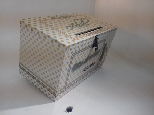 15 años  buzón cofre urna alcanciagrande personalizado