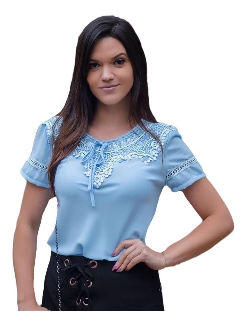 2adb91402e80 15 blusa blusinha manga curta evangélica modelos variados. Carregando zoom.