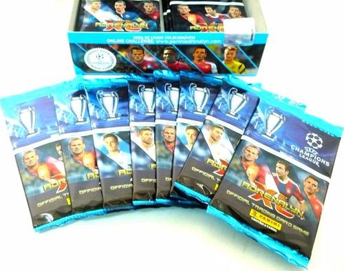 15 caixas 24 envelopes cards champions league 14/15 panini