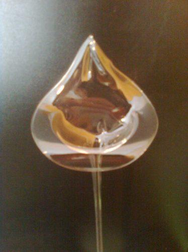 15 calas de vidrio 25 cm con gel  ceremonia de velas.