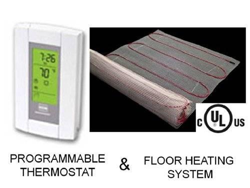 15 calor radiante del piso sistema de calefacci n el ctrica 6 en mercado libre - Sistemas de calefaccion electrica ...