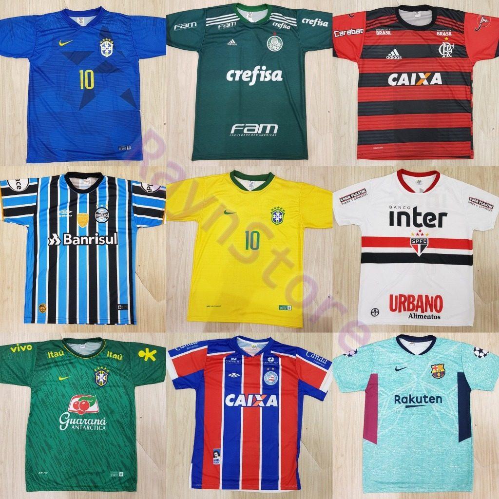 3588e4d8dd6a8 15 Camisa Time Futebol Nova Frete Grátis Atacado Raynstore® - R  292 ...