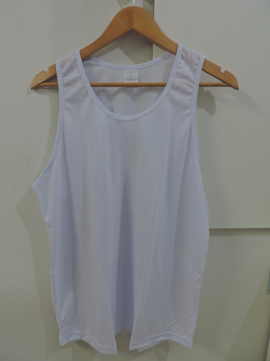 15 camisetas regata 100% poliester para sublimacao. Carregando zoom. 76edd2595bd