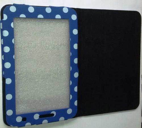 15 capas tablet 7 polegadas universal estampas poá oferta