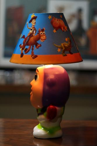 15 centro de mesa woody toy story buzz light year lampara