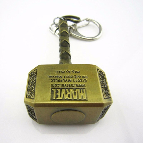 15 chaveiros metal martelo thor vingadores frete gratis