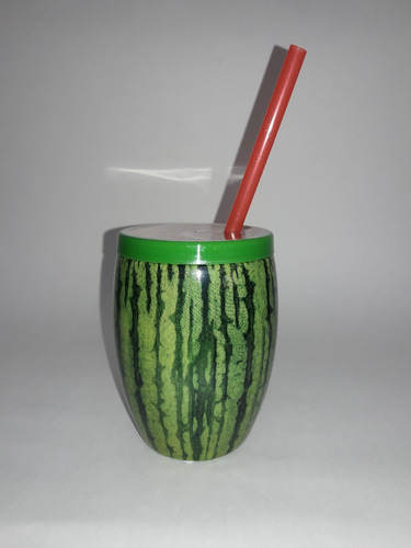 15 copos festa moana = 5 melancia + 5 coco verde + 5 marrom