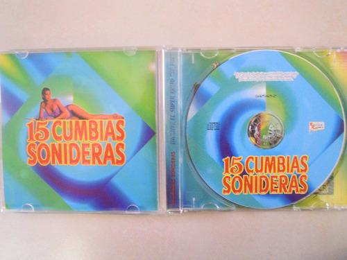 15 cumbias sonideras cd incluye exito se fue