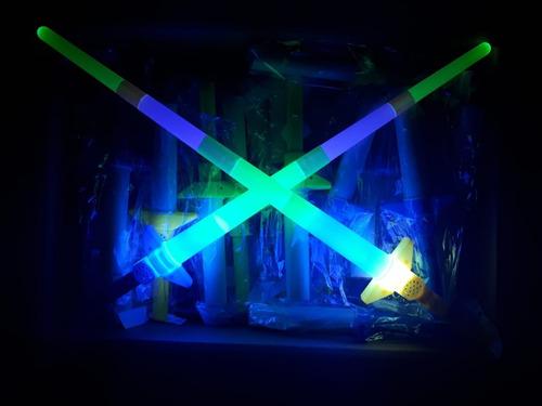 15 espada luz y sonido juguete led luminoso regalo premio