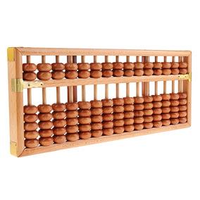 Juguete Madera Fila Calculadora 15 Cuentas Ábaco E De UVzpMS