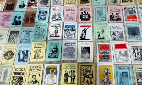 15 folhetos de literatura de cordel