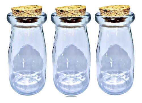15 garrafinhas pote vidro tampa de rolha 100ml sweet amado