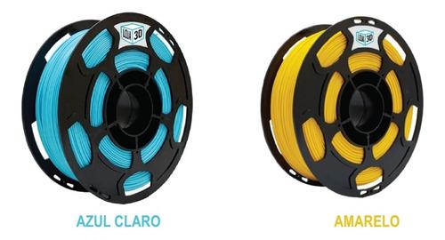 15 kg filamentos pla pro - loja 3d - várias cores - 1,75 mm