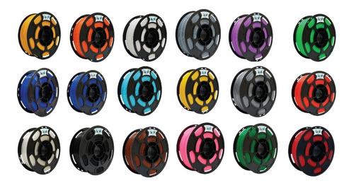 15 kg filamentos pla pro - loja 3d - várias cores - 3 mm