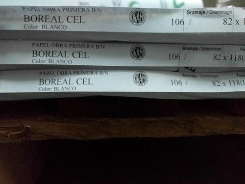 15 kg papel obra blanco -70 / 106 / 180gr - cortado a medida