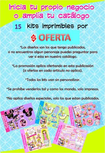 15 kits imprimibles super paquete por tiempo limitado