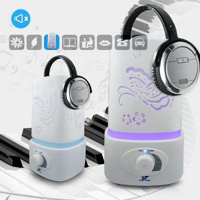 1.5 l led aroma casero ultrasónico humidificador aire