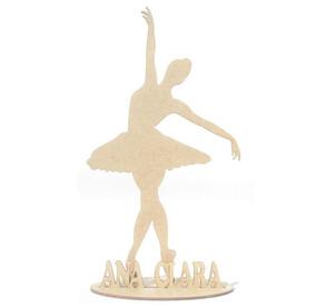 819db35937 Centro De Mesa Bailarina Ballet no Mercado Livre Brasil