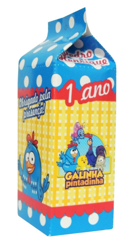 15 lembrancinha personalizada caixa de leite, aniversario.