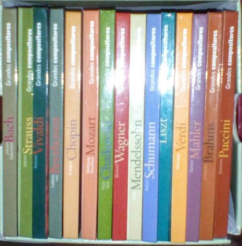 15 libros y 15 cd música clásica leer descripción