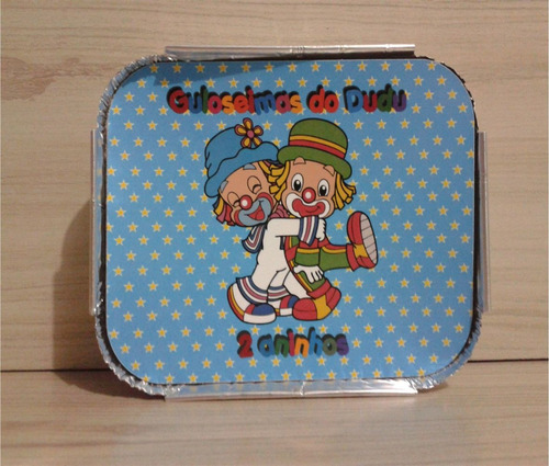 15 marmitinhas personalizadas patati patatá - lembrancinha