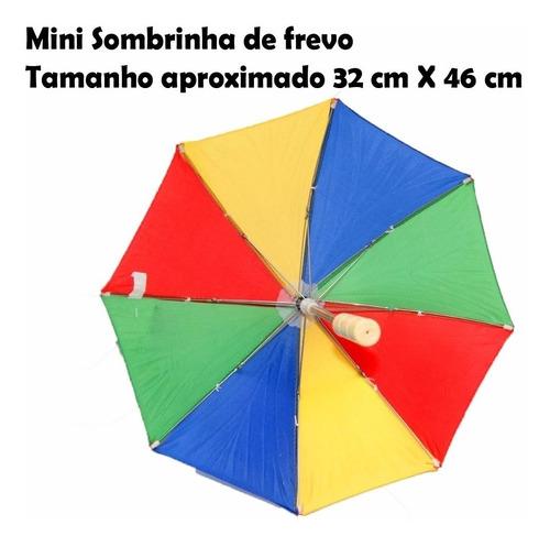 15 mini sombrinha frevo dança decoração festa carnaval aeio@