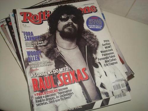 15 números da revista rolling stone de 2007 a 2014.