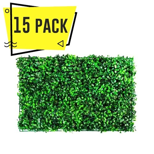 15 Pack Follaje Artificial Muro Jardin Vertical Planta A0 ...