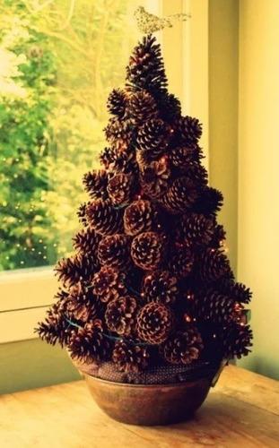 15 pinhas naturais natural enfeite natal artesanato oferta festa eventos pinha pinos pino menor preço decoração