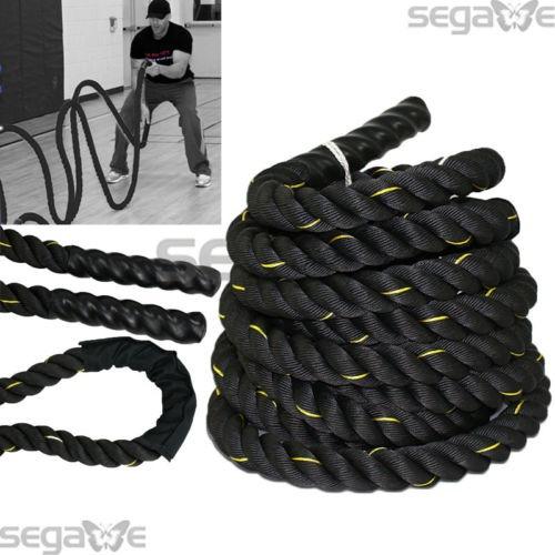 1.5 poly dacron 30 pies batalla cuerda entrenamiento fuerza