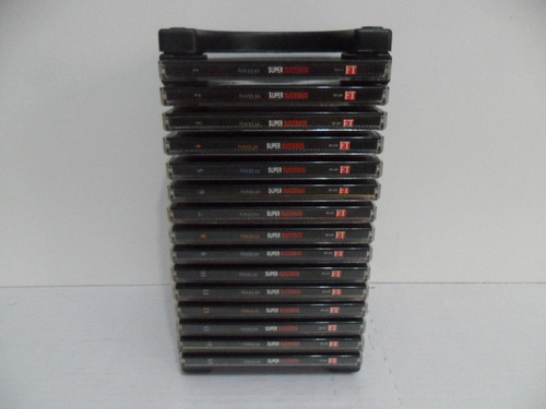 15 porta cd modular - cd box 15 - organizador p/ 15 cds