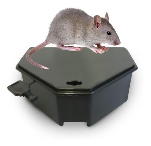 15 porta isca p/ raticida veneno de rato (girassol-bloco)
