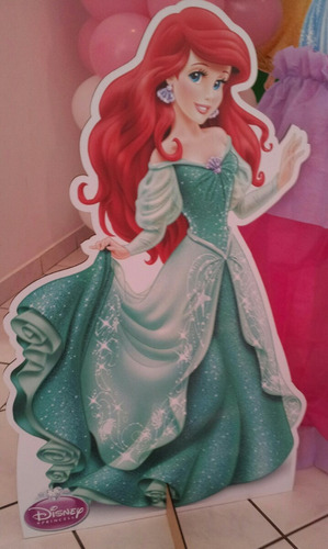 15 princesas disney chão e mesa festa lindos frete grátis
