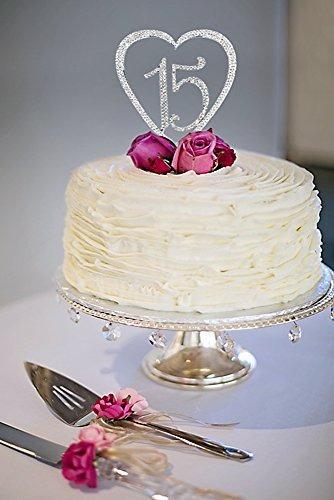15 Quinceanera Decoraciones Cake Topper Cumpleanos Rhines