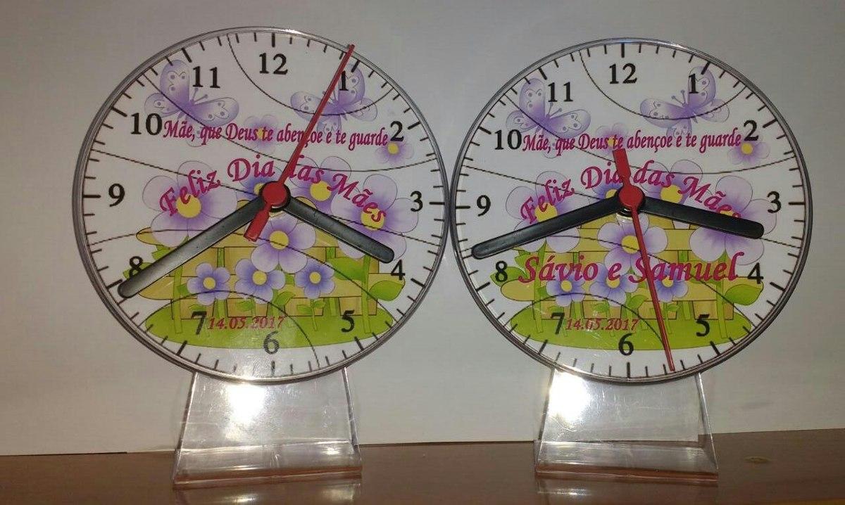 7fd25d585ff 15 relógio lembrancinha personalizada dia das maes. Carregando zoom.