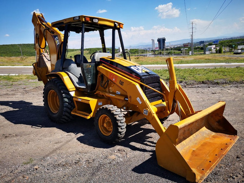 15) retroexcavadora cat 416 d con kit hidraulico 2003