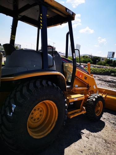 15) retroexcavadora caterpillar 416d con kit hidraulico 2003