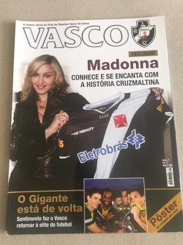 15 revistas oficiais do vasco - coleção completa - raridade