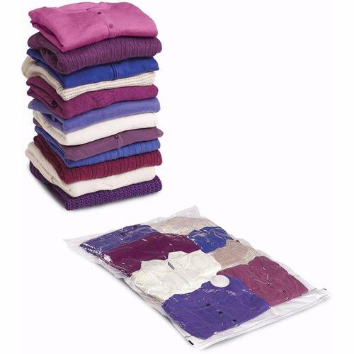 15 sacos a vácuo que comprime diminuindo tamanho das roupas