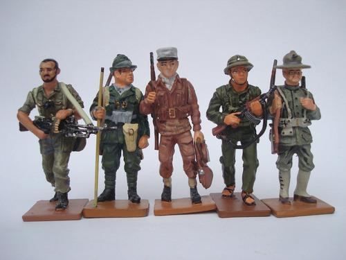 15 soldados soldaditos de plomo colección completa siglo xx
