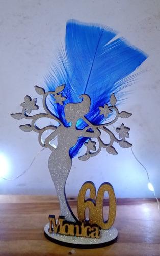 15 souvenirs  + central mujer arbol diseño 60 años
