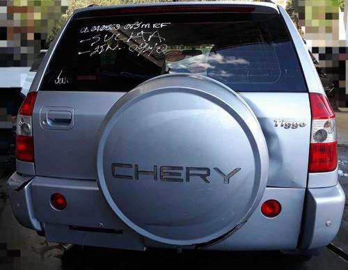 (15) sucata chery tiggo 2011  2.0  (retirada de peças)