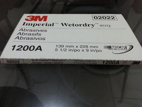 15 unidades lixa d´agua 1200 - 3 m importada usa original