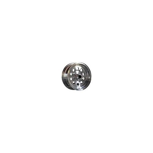 15 x 6 aluminio hispec mod remolque rueda 5 en 4,50 bolt pat