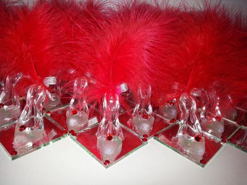 15 zapatito princesa cenicienta 15años para souvenirs
