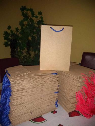 150 bolsas verticales 50 chicas 50 medianas y 50 grandes