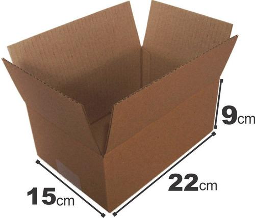 150 caixas de papelão tam 22x15x9 maleta correios sedex pac